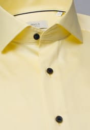 ETERNA LANGARM HEMD MODERN FIT GENTLE SHIRT TWILL ZARTGELB UNIFARBEN