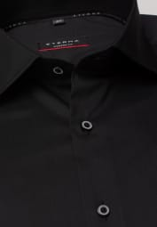 ETERNA LANGARM HEMD MODERN FIT PERFORMANCE SHIRT STRETCH SCHWARZ UNIFARBEN