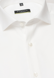 ETERNA LANGARM HEMD SUPER-SLIM COVER SHIRT TWILL BEIGE UNIFARBEN